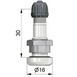 valve droite de 30 mm en alliage l g pour trou de jante de 9 7 mm presssion maxi froid de. Black Bedroom Furniture Sets. Home Design Ideas