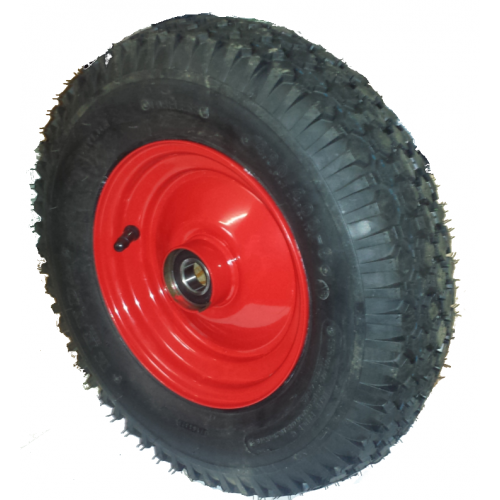 roue compl te gonflable pneu kenda k352 tl 6pr jante acier rouge moyeu. Black Bedroom Furniture Sets. Home Design Ideas