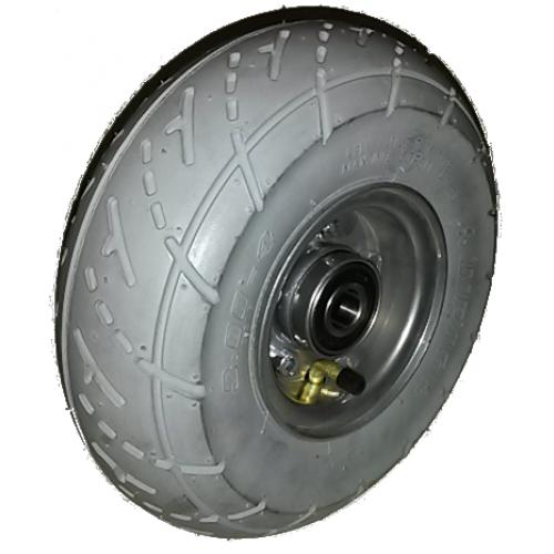 roue compl te gonflable pneu impac is305 gris. Black Bedroom Furniture Sets. Home Design Ideas