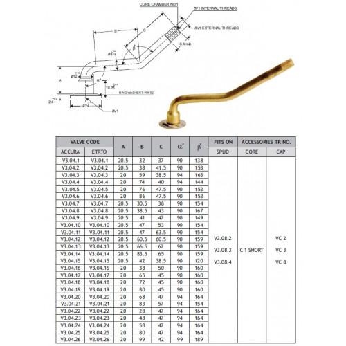 Chambre air 235 85 16 valve coud e v3 04 5 for Chambre a air 4x4