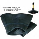 Chambre à air - 8-22.5 (9-22.5) - Valve droite TR300 (VS3-21-1)