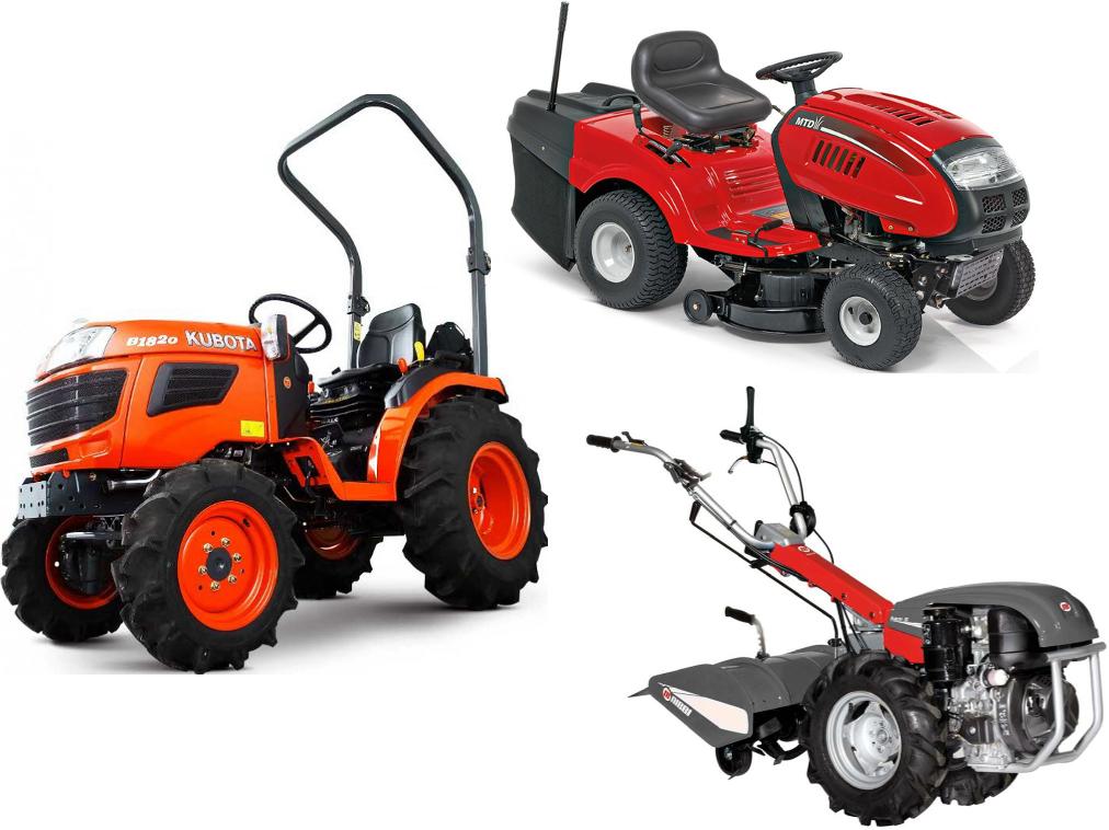 tondeuse / motoculteur / micro-tracteur