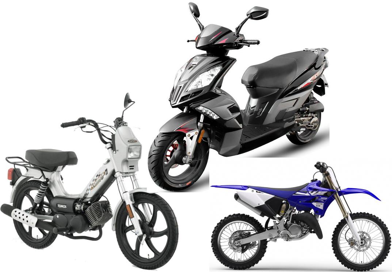 scooter / moto / vélomoteur