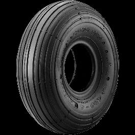 SET (pneu + chambre à air valve coudée) Cheng Shin C-179 - 4.00-4 (12x4) TT 4PR