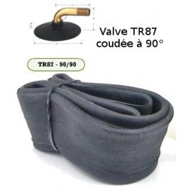 Chambre à air - 2.80-6.5 · 90/65-6.5 · 110/50-6.5 - Valve coudée TR87