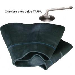 Chambre à air - 6.00-16 (6.50-16) - Valve coudée TR75A pour voiture / 4x4 / utilitaire