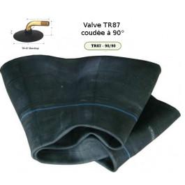 Chambre à air - 16x6.50-8 (16x7.50-8 · 18x6.50-8 · 190-8) - Valve coudée TR87 (90°)