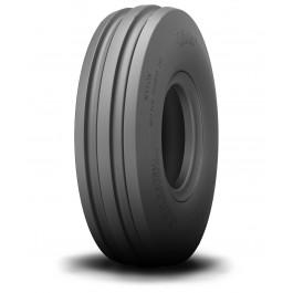Set (pneu + chambre à air avec valve droite TR13) Avant Directeur Kenda K406 - 3.50-8 TT 4PR