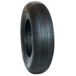 Set (pneu + chambre à air avec valve coudée TR87) Deli S-379 - 3.50-6 TT 4PR