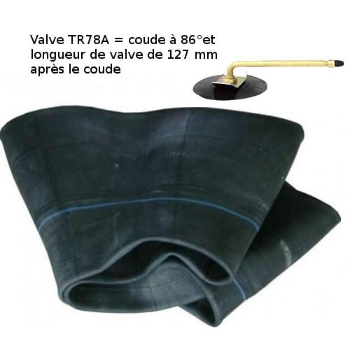 Chambre air 250 15 300 15 valve coud e tr78a - Chambre a air 312x52 250 ...