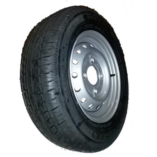 roue compl te remorque 185r14c tl 104 102n 8pr pneu gt. Black Bedroom Furniture Sets. Home Design Ideas