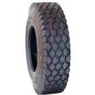 Roue complète GONFLABLE Gazon / Manutention - 4.80/4.00-8 TT 4PR / Jante acier rouge à moyeu tube lisse de Ø35x71 / pneu Veloce V-6602 / CA valve TR13