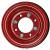 Jante en Acier - 2 parties - 2.10x4 - TT / 4 trous - déport  ET0 / entre-axe Ø52x70 / trou de fixation Ø8.5 / Trou de valve Ø11.5