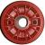 Jante Starco en polypropylène rouge - 1 pièce - GO 2.25Ax4 H2 TL - Moyeu tube lisse Ø35x71